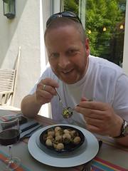 Me and the snails (Donald Morrison) Tags: snails food stcloud paris france