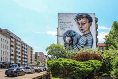 Help # 1 (JuliSonne) Tags: streetart urbanekunst mauer wall graffiti colors scene urban pasteup stencil street berlin