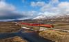 Night Train (david_gubler) Tags: nsb di4 norgesstatsbaner fjell saltfjellet nordlandsbanen train railway diesel locomotive