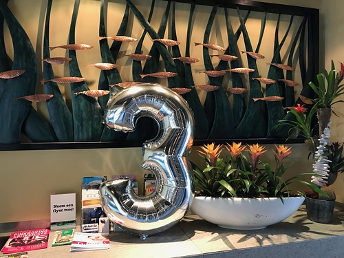 Folieballon Cijfer 3 Watertuin Spijkenisse