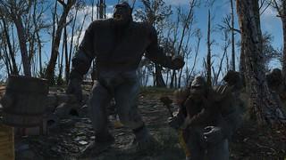 Fallout4 - When Goritants attack !