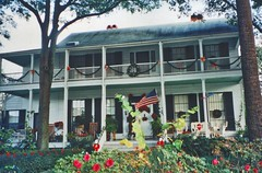 Fernandina Beach  - Florida - Lesesne House - Oldest House - Classical Revival Architecture (Onasill ~ Bill Badzo) Tags: nassuacounty lesesne house classical revival residence dr john 1860 antebellum onasill amelia island fernandina civil ar andrew jackson old picture photo vintage flag usa senator nrhp district register lumber friend family linch historicalsociety davis state vacation area travel north unitedstates america
