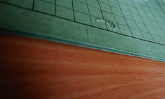 Damaged (frankdorgathen) Tags: profan ordinary banal mundane alpha6000 sony1018mm stillleben stilllife holz wood schreibtisch desk table büro office arbeit work umlaufmappe circular