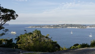 Looking across to Sydney Heads