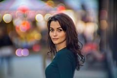 St. Petersburg streets. (pashaty) Tags: portrait girl woman bokeh night street people cyclop 85mm f15 sony a6000 sonye art stpetersburg viltroxbooster