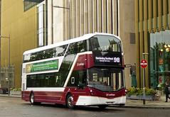 98 Gardening Specials... (SRB Photography Edinburgh) Tags: buses lothian edinburgh bus transport travel special road trees buildings ingliston gardening scotland