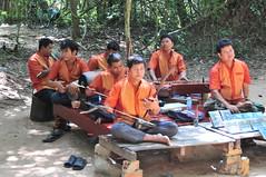 A Sad Band . (john a d willis) Tags: cambodia angkorwat band musicians traditionalmusic landmines victims siemreap