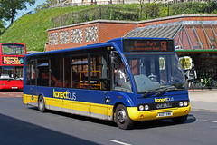 Optare Solo (DennisDartSLF) Tags: norwich bus optare solo 951 konectbus au07kmk
