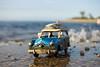 Driving Home From The Beach (Out of Ireland Photography ) Tags: dublinheadyahoocom outofirelandphotography beach bluff longisland somethingblue bluesky car auto automobile sand dublinhead outofireland kingspark