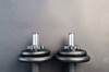 Two Dumbbells - Credit to http://homedust.com/ (Homedust) Tags: dumbbell equipment gym heavy iron metal steel strength strong weight training workout gear