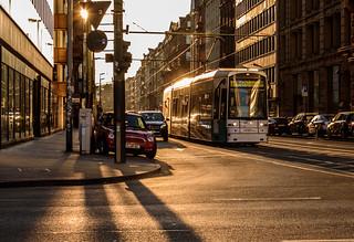 Backlit Frankfurt