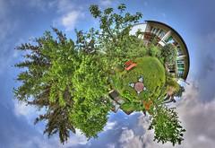 my small little planet ;-) II (stega60) Tags: hdr planet trees garden panorama blue sky basel switzerland stega60 natur nature naturaleza landschaft landscape countryside scenery scene paisaje región littleplanet