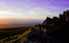 Sunset over the Whangie (mianeko) Tags: thewhangie glasgow scotland scotlandsbeauty scottishlandscape scotlandphotography scottishhighlands southernhighlands scottishsunset landscape lovescotland visitscotland rockformation landscapephotography summerlandscape