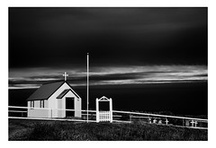 Church at Berunes | Iceland (www.davidrosenphotography.com) Tags: berunes building iceland church architecture blackwhite