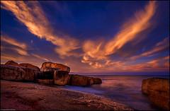 Granite #176... (niggyl (well behind)) Tags: bicheno bichenotasmania waubsbay tasmania tasmansea sunset sundown cirrus cloudsstormssunsetssunrises eastcoasttasmania eastcoast granite longexposure le fujifilm fujifilmxt2 fujixt2 xt2 fujinon fujinonxf1428r fujixf1428 fujixf1428r xf14mmf28r xf14mm xf14mmf28 breakthroughfilters breakthroughphotography breakthroughx4