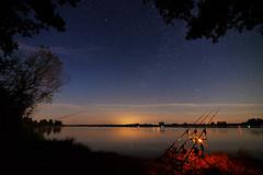 Midnight fishing (The Cuman) Tags: tokinaatx1628f28profx nikon nikond610 tokina werner landscape nature midnight stars lake fishing color