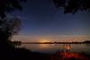 Midnight fishing (The kun) Tags: tokinaatx1628f28profx nikon nikond610 tokina werner landscape nature midnight stars lake fishing color