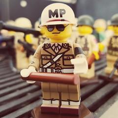 Respect my authority (rob-the-org) Tags: lego minifigure brickmania militarypolice mp worldwar2 ww2 topjune2018 250