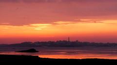 (An Arzhig) Tags: sunset mer rocher crépuscule roscoff batz bretagne finistère france panasonic gx800