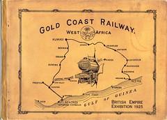 Gold Coast Railway (Africa) - GCR Official Book (1925) (HISTORICAL RAILWAY IMAGES) Tags: gcr goldcoast railway train africa ghana