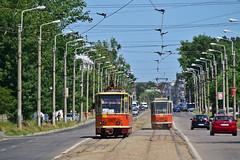 Tatra KT4D #1327 S.C._Transurb_S.A. Galaţi (3x105Na) Tags: tatra kt4d 1327 sctransurbsa galaţi rumunia rumänien strassenbahn strasenbahn tram tramwaj
