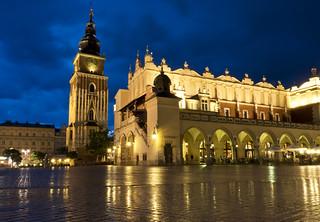 Blue hour Kraków