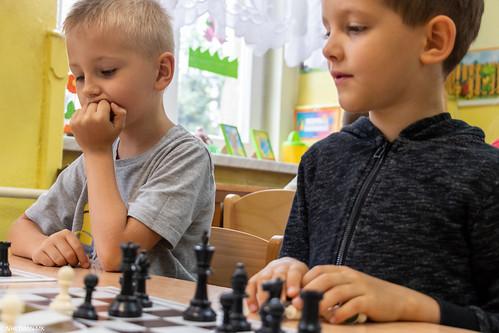 V Turniej Szachowy o Mistrzostwo Przedszkola Miejskiego Nr 1-2