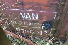 20180222 004 Fomer Farm, Shenton. BR 12T Van B760292 (15038) Tags: railways trains br britishrail wagons goods freight fomerfarm shenton 12tvan grounded 760292