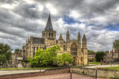 Rochester Cathedral (Kam Sanghera) Tags: rochester cathedral kent medway uk united kingdom britain church medieval hdr photomatix canon eos 5d mark iii