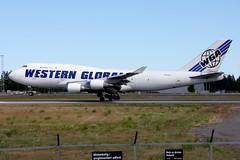 Western Global N344KD,  OSL ENGM Gardermoen (Inger Bjørndal Foss) Tags: n344kd westernglobal boeing 747 cargo osl engm gardermoen