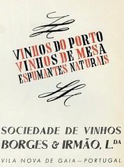 Publicidade, 1941 (Hemeroteca Municipal de Lisboa (Portugal)) Tags: publicidade ads advertisement advertising old retro anos40 portugal press imprensa periodicalslibrary digitallibrary hemerotecadigital borgesirmão vinho wine