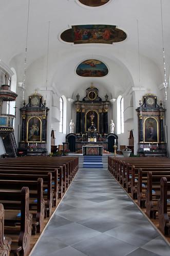 In der Kirche von Amsteg