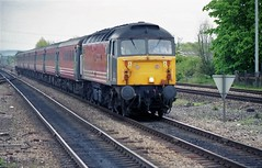 47711 at Didcot (TutorJohn72) Tags: class 47 diesel locomotive didcot parkway station 1999 virgin livery