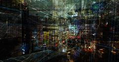 ones & zeros (prole pinion) Tags: surreal techno industrial data layers layering photoshop scifi futurist matrix fantasy postapocalyptic