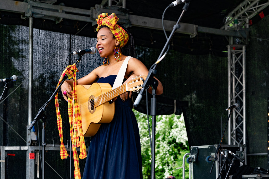 INES KHAI FROM GUADELOUPE [AFRICA DAY 2018 IN DUBLIN]-140499