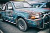 359 of Year 4 - Ranger Rat (Hi, I'm Tim Large) Tags: ford ranger truck ute utility pickup old aged retro rat rod rust blue fuji fujifilm x70 custom customised hotrod grunge 365 359