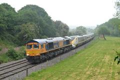 66774+3201+3201 (Adam 11 transport photography) Tags: train railway eurostar rare scrap move castle gresley