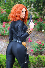 IMG_1458 (willdleeesq) Tags: animepasadena cosplay cosplayer cosplayers avengers blackwidow marvel marvelcomics