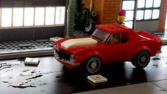Lego Chevrolet Camaro MOC (hachiroku24) Tags: lego chevrolet night camaro street moc car instructions speed champions