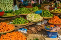 Bustling Da Nyin Gone Wet Market in Yangon-Myanmar. (KyotoDreamTrips) Tags: burma danyingonewetmarket myanmar yangon fruit veggies yangonregion myanmarburma mm