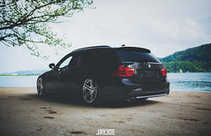 BMW 3 E91 TOURING (JAYJOE.MEDIA) Tags: bmw 3 e91 touring low lower lowered lowlife stance stanced bagged airride static slammed wheelwhore fitment
