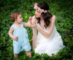 Mother's Gift (Our View Photography) Tags: motherandchild tamronsp70200mmf28divcusda009 magmodbounce aikensc hopelandsgarden