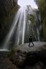 Pretty Gljúfrabúi (Zur@imiAbro@d) Tags: gljúfrabúi waterfall iceland vik gljufurarfoss seljalandsfoss selfie wet water cascade moss walls rock longexposure landscape zurimiabrod