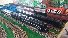 "MichLUG at Durand Railroad Days 2018-05-19 (18) (""MOOSE"") Tags: michlug michltc michigan lego durand railroad days 2018 trains jaws liberty planetofapes 1225 965 polarexpress"