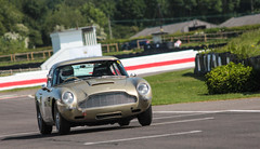 Aston on track (NaPCo74) Tags: goodwood track motor circuit trackday gentlemen sussex chichester lord march car duke richmond aston martin db4 db5 db racing newport pagnell