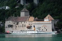 Dampfschiff DS Vevey ( Baujahr 1907 - Länge 66 m - 560 Personen - CGN Compagnie Générale de Navigation sur le lac Léman - Schaufelraddampfer Salondampfer ) auf dem Genfersee - Lac Léman in der Westschweiz - Suisse romande der Schweiz (chrchr_75) Tags: christoph hurni schweiz suisse switzerland svizzera suissa swiss chrchr chrchr75 chrigu chriguhurni chriguhurnibluemailch albumzzz201805mai mai 2018 hurni180529 albumdampfschiffvevey dampfschiffvevey dampfschiff vevey westschweiz romande romandie genfersee lac léman schiff fahrgastschiff ship bateau albumdampfschiffegenfersee