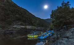 Moonlight on the Wild & Scenic Rogue River (acase1968) Tags: moonlight rogue river nwrc nikon d750 nikkor 24120mm f4g rafts camp campsite camping rafting northwest co moon full