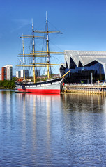 Glasgow 16 May 2018 00221.jpg (JamesPDeans.co.uk) Tags: sailingship forthemanwhohaseverything landscape ships gb printsforsale firthofclyde transporttransportinfrastructure tallship strathclyde sea reflection unitedkingdom shore coast scotland britain river riverclyde wwwjamespdeanscouk digitaldownloadsforlicence jamespdeansphotography greatbritain landscapeforwalls europe uk glasgow