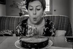 Felices 26 (gabrielromeroplana) Tags: felices 26 feliz cumpleaños happy birthday black white bw monochromatic blanco negro sony a6000 sigma 30mm 28