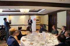 07-06-2018 Exclusive Luncheon with Secretary of State Pieter De Crem - DSC08958